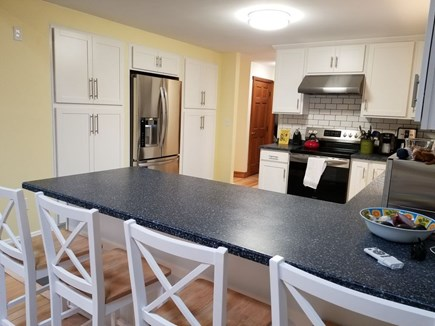 Eastham Cape Cod vacation rental - Fully renovated kitchen, all new appliances with breakfast bar