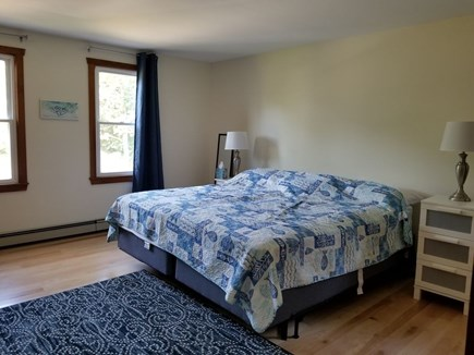 Eastham Cape Cod vacation rental - One of three bedrooms with a King
