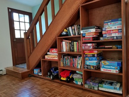 Eastham Cape Cod vacation rental - The Den is filled with games, puzzles, and toys.