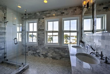 West Falmouth Cape Cod vacation rental - Master bathroom
