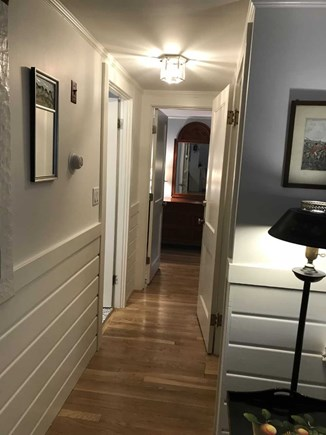 East Falmouth Cape Cod vacation rental - Hallway to Master