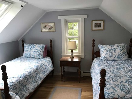 East Falmouth Cape Cod vacation rental - Upstairs twin bedroom