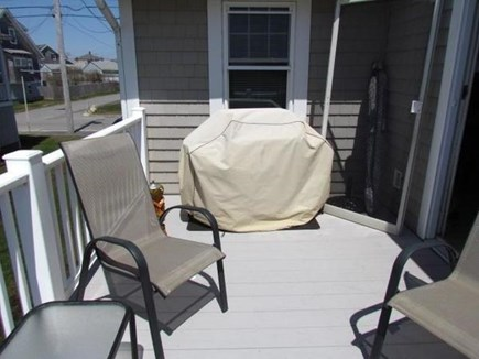 North Falmouth Cape Cod vacation rental - Deck with gas grill