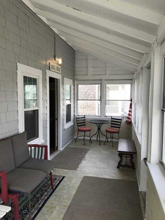North Falmouth Cape Cod vacation rental - Coffee Porch