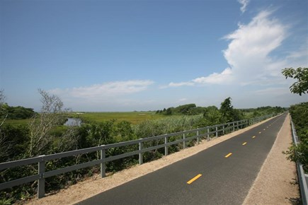 West Falmouth Cape Cod vacation rental - Bikepath is 2 houses away