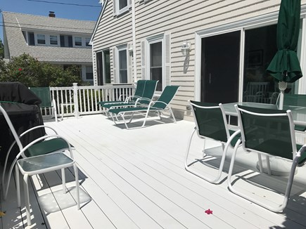 Falmouth Heights Cape Cod vacation rental - Deck