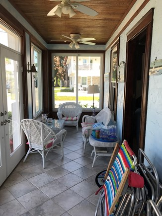 Falmouth Heights Cape Cod vacation rental - Screen front porch
