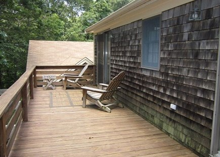 Orleans Cape Cod vacation rental - Beautiful spacious 2nd floor balcony /deck area