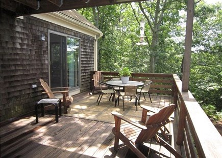 Orleans Cape Cod vacation rental - Spacious deck
