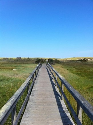 East Orleans Cape Cod vacation rental - Nauset Beach Association walkway
