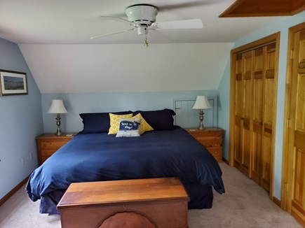 Eastham Cape Cod vacation rental - 2nd Floor Master Bedroom - King Bed ensuite bathroom.