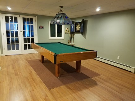 Brewster Cape Cod vacation rental - Pool table in Lower level