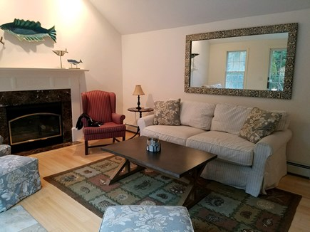 Brewster Cape Cod vacation rental - Living room area alternate view