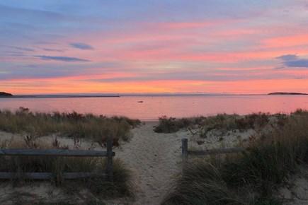 Wellfleet Cape Cod vacation rental - Mayo Beach Sunset