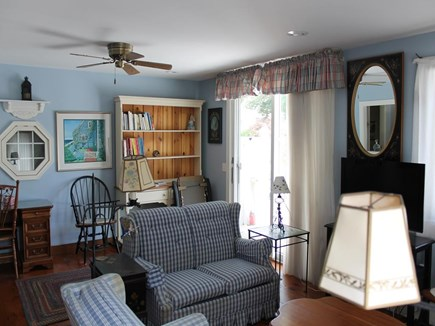 Chatham Cape Cod vacation rental - Comfortable Living Space Opens to Deck and Private Backyard