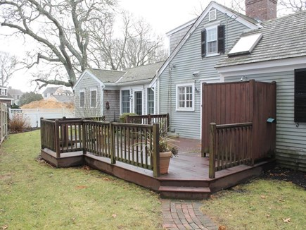 Harwich Port Cape Cod vacation rental - Back of House with Deck