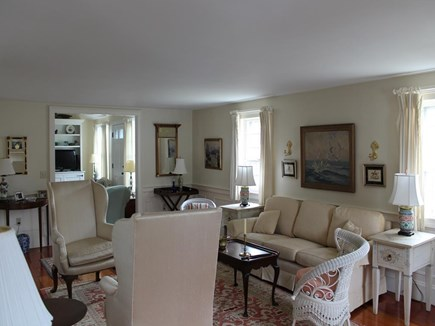 Harwich Port Cape Cod vacation rental - Front Living Room