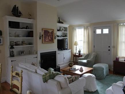 Harwich Port Cape Cod vacation rental - Great Room Opens to Kitchen and Dining Area