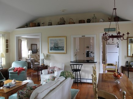 Harwich Port Cape Cod vacation rental - Open and Sunny Floor Plan