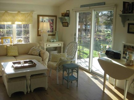Harwich Cape Cod vacation rental - Sliders to Deck