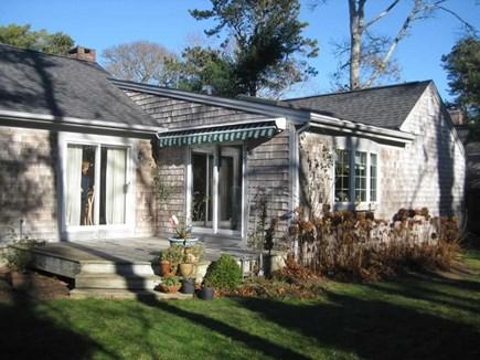 Harwich Cape Cod vacation rental - Deck and Backyard