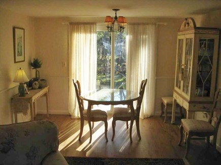 Harwich Cape Cod vacation rental - Dining Nook