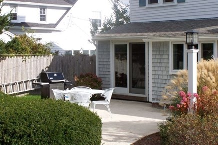 Harwich Port Cape Cod vacation rental - Nice Back Patio