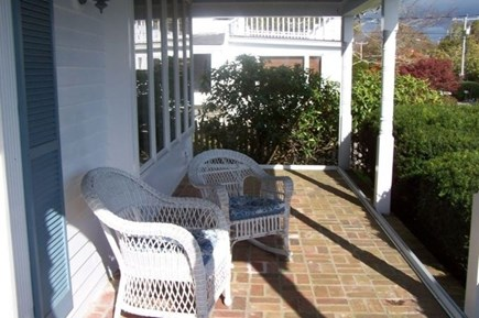Harwich Port Cape Cod vacation rental - Relax on the Porch Overlooking the Harbor