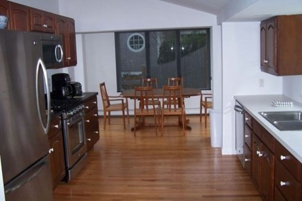 Harwich Port Cape Cod vacation rental - Kitchen and Dining Area