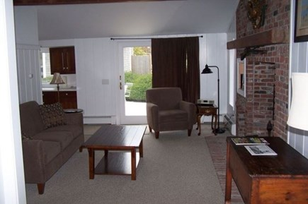 Harwich Port Cape Cod vacation rental - Open Living TV Room to Kitchen