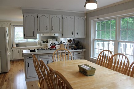 Harwich Port Cape Cod vacation rental - Breakfast/Kitchen Area- there is an additional dining room