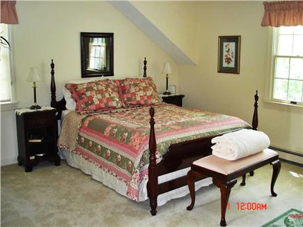 East Falmouth Cape Cod vacation rental - Master bedroom with queen bed and full bath
