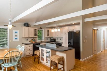 Falmouth Cape Cod vacation rental - Open kitchen/dining areas