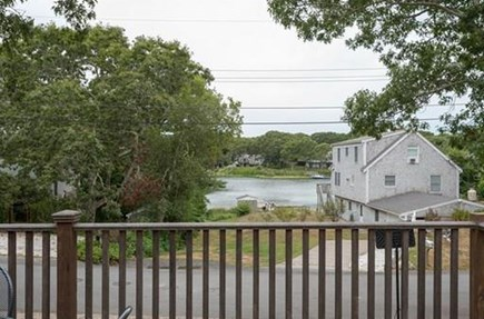 Falmouth Cape Cod vacation rental - View from the deck