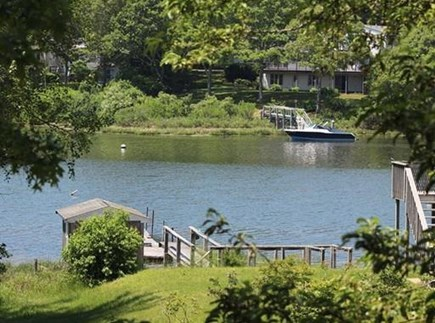 Falmouth Cape Cod vacation rental - Green Pond across the street