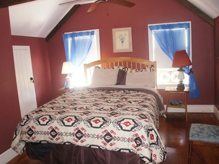 north truro Cape Cod vacation rental - Master queen bedroom
