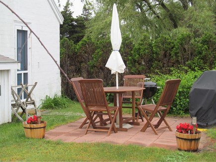 Wellfleet Cape Cod vacation rental - Outdoor grilling and dining.