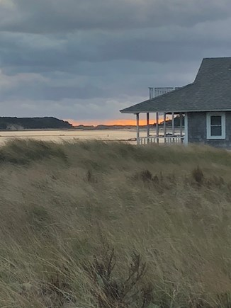 Wellfleet Cape Cod vacation rental - Fall Sunset on Mayo Beach
