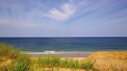 Wellfleet Cape Cod vacation rental - Sun on Mayo Beach just steps away