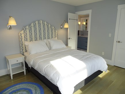 Provincetown,  East End Cape Cod vacation rental - Queen bedroom upstairs, walk in closet, opens to jack n jill bath