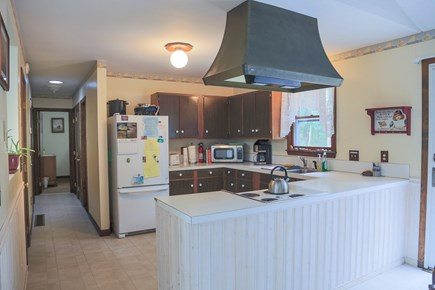 Eastham Cape Cod vacation rental - Kitchen area opened into the dining area.