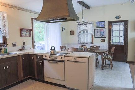 Eastham Cape Cod vacation rental - Working area of kitchen when preparing breakfast, lunch, or diner