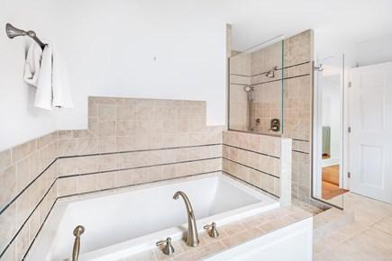 Truro Cape Cod vacation rental - First floor full en-suite bath.