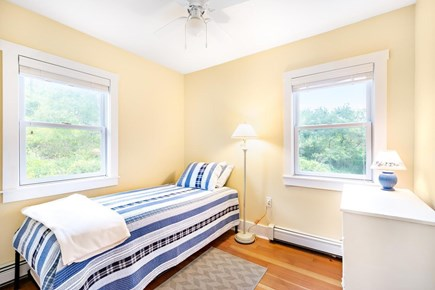 Truro Cape Cod vacation rental - Third bedroom, twin with trundle.