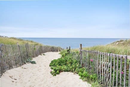 Truro Cape Cod vacation rental - Park your car, the entrance to Ryder Beach lies steps away