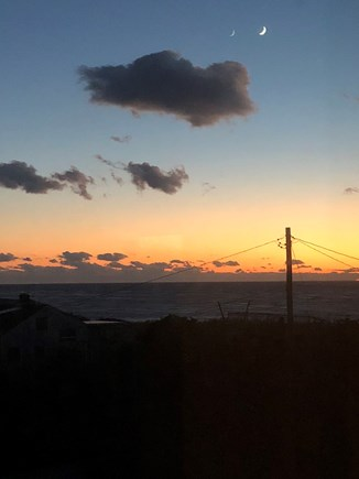 Truro Cape Cod vacation rental - Sunset views from second floor master.