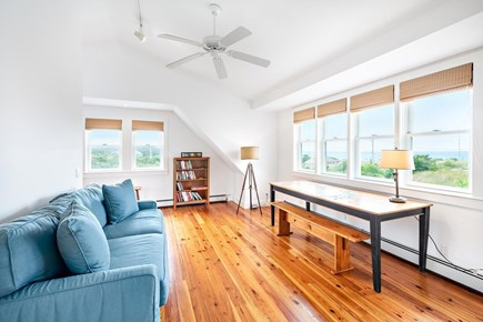 Truro Cape Cod vacation rental - Second floor master with views of Cape Cod Bay