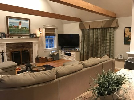 Eastham Cape Cod vacation rental - Large flat screen TV