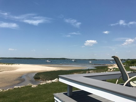 Bourne Cape Cod vacation rental - View from the deck off the front of the house