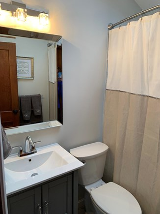 Bourne Cape Cod vacation rental - Newly remodeled bathroom with oversized bath/shower